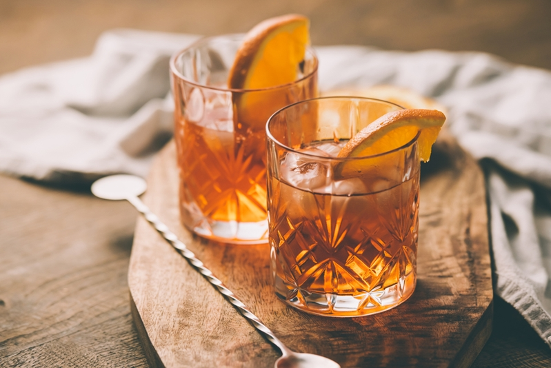 Ginger can ease belly bloat - so add it to one of your cocktails.